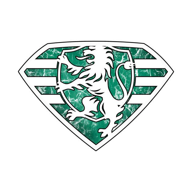 LionMan Crest (White)