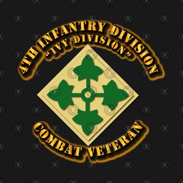 4th Infantry Division - Ivy Div - Cbt Vet