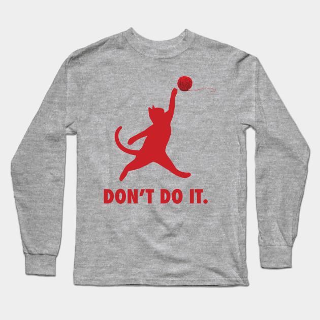 68e9edbec4e5 The Jumpcat logo - Michael Jordan - Long Sleeve T-Shirt