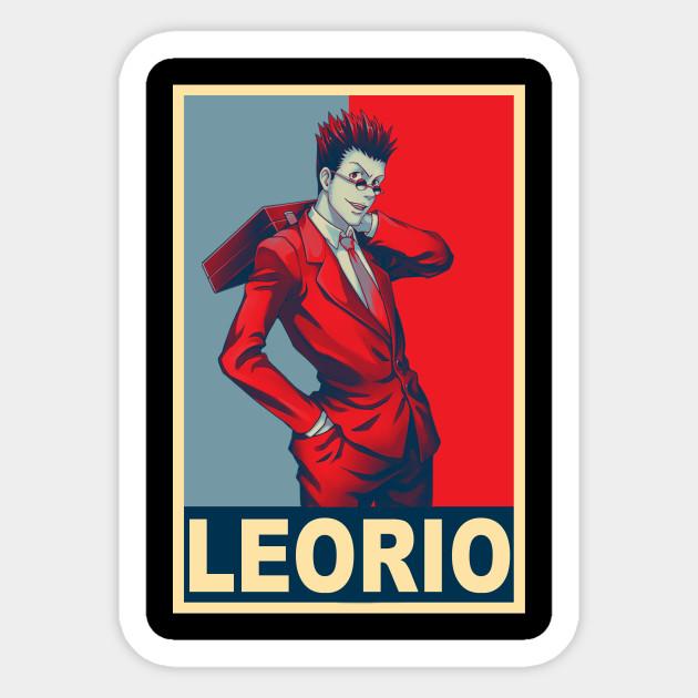 Leorio Paradinight Leorio Sticker Teepublic Au