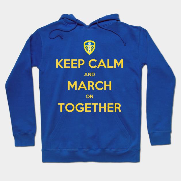 Keep Calm and Follow Leeds football Hoodie