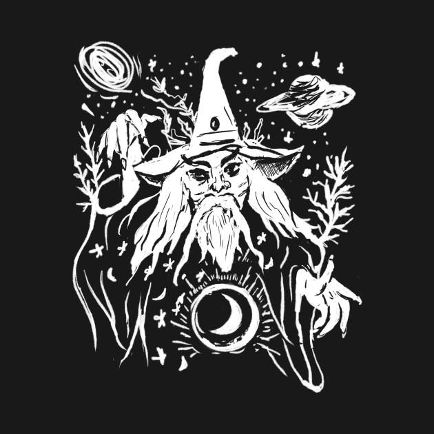 Evil Wizard Merlin Gothic Punk