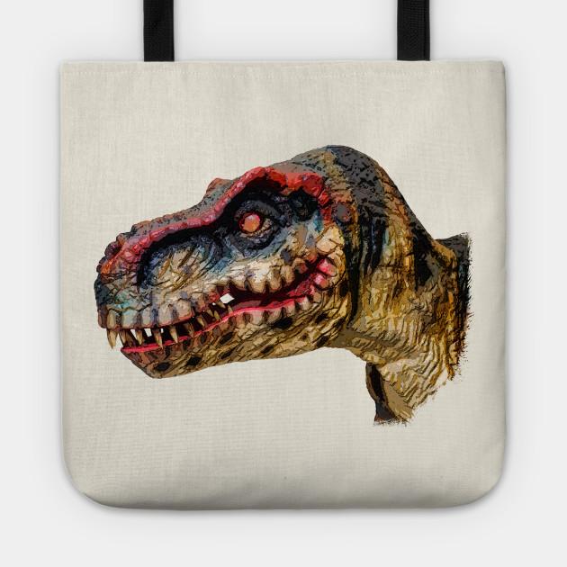 T Rex Dinosaur T Rex Tote Teepublic Au