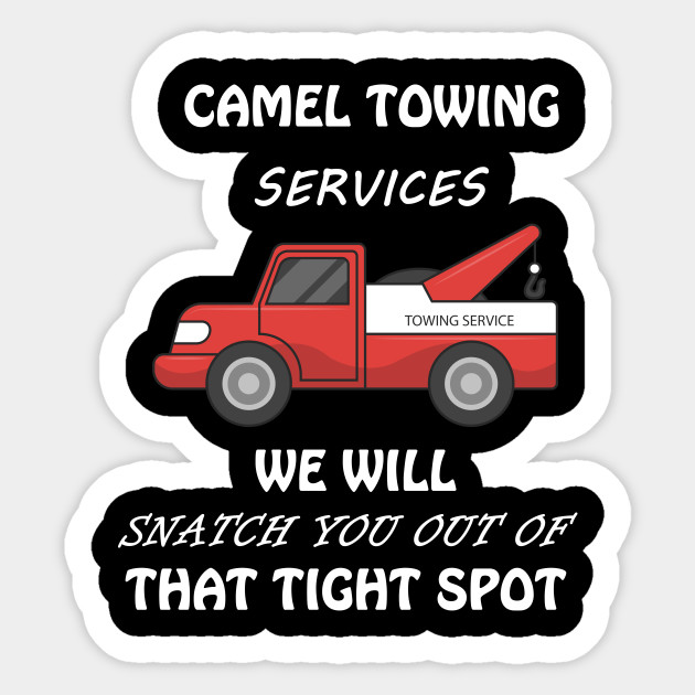CAMEL TOWING Hooded Sweat Shirt ~ Camel Toe Hoodie ~ Snatch it Out FUNNY