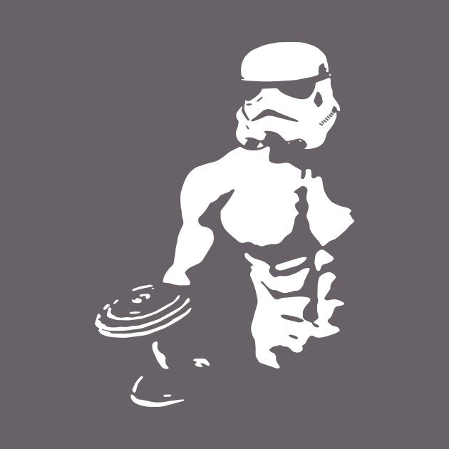 8604cb98b53f62 Stormtrooper Star Wars Mens Bodybuilding Tank Top Stringer Muscle Gym Bodybuilding  T-Shirts - Bodybuilding - T-Shirt