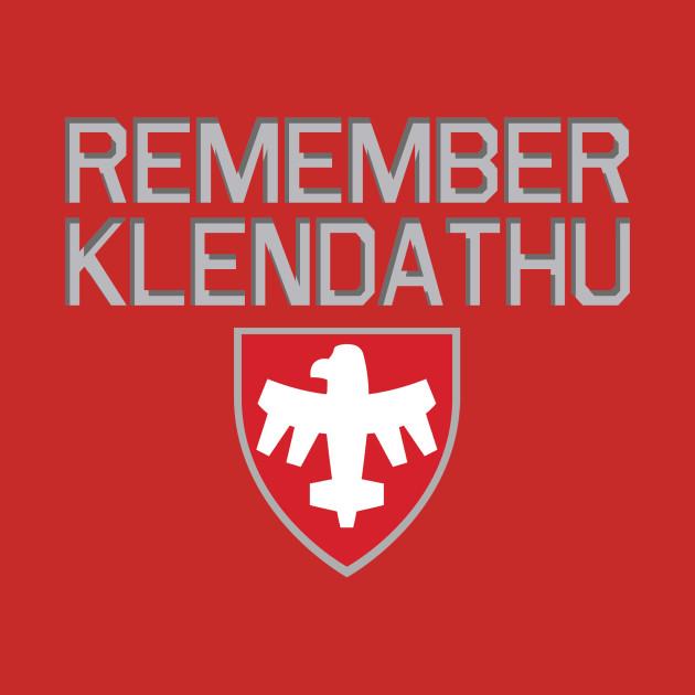 Starship Troopers Remember Klendathu