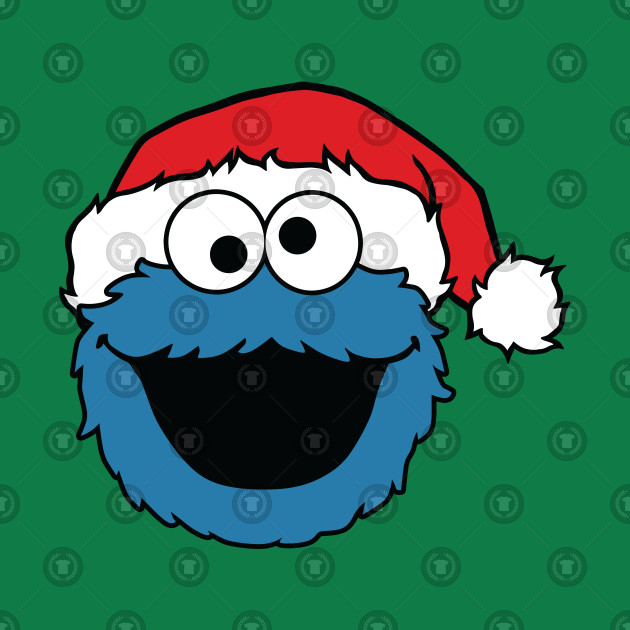 Christmas Cookie Monster