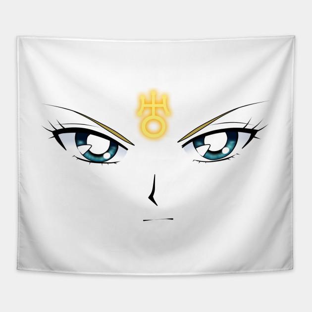 Sailor Uranus Face Symbol Tapestry Teepublic