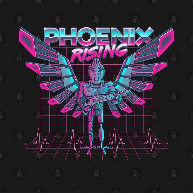 Phoenix Rising - A Rick and Morty Birdperson Design
