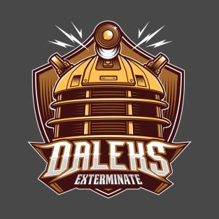 Daleks Team t-shirts