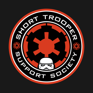 Short Trooper Support Society t-shirts