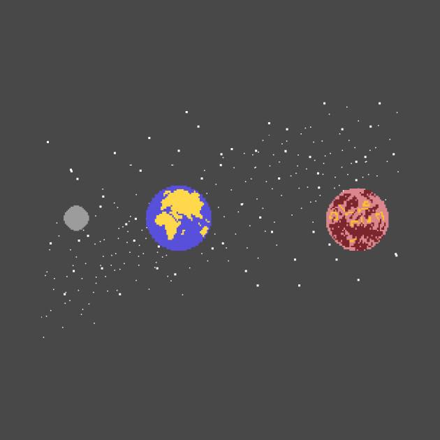 8 Bit Solar System