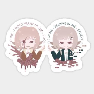 Chiaki Nanami Stickers Teepublic