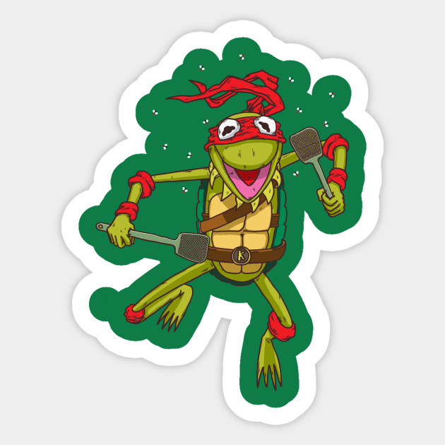 Teenage Mutant Ninja Frog Ninja Turtles Sticker Teepublic