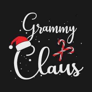230223094 Grammy Claus T Shirt - Matching Family Christmas Gift Shirt T-Shirt
