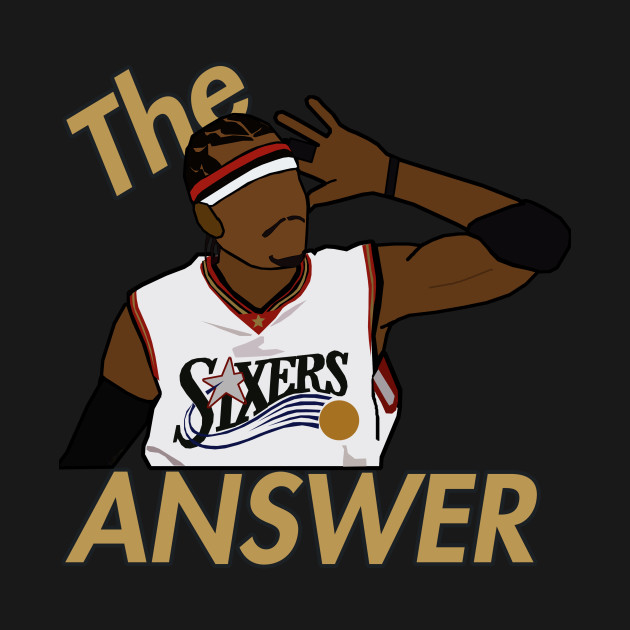Allen Iverson 'The Answer' - NBA Philadelphia 76ers