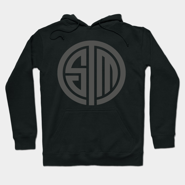 tsm gray tsm logo hoodie teepublic