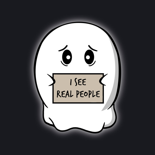 I see real people