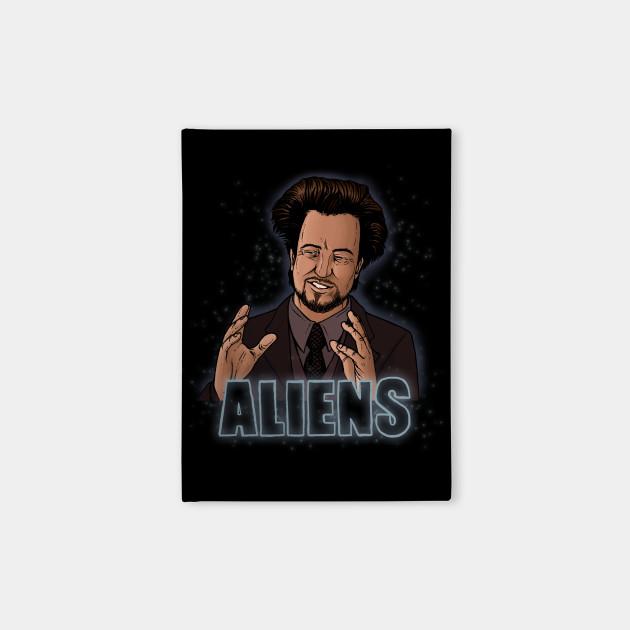 The Aliens Guy (Giorgio Tsoukalos) Color