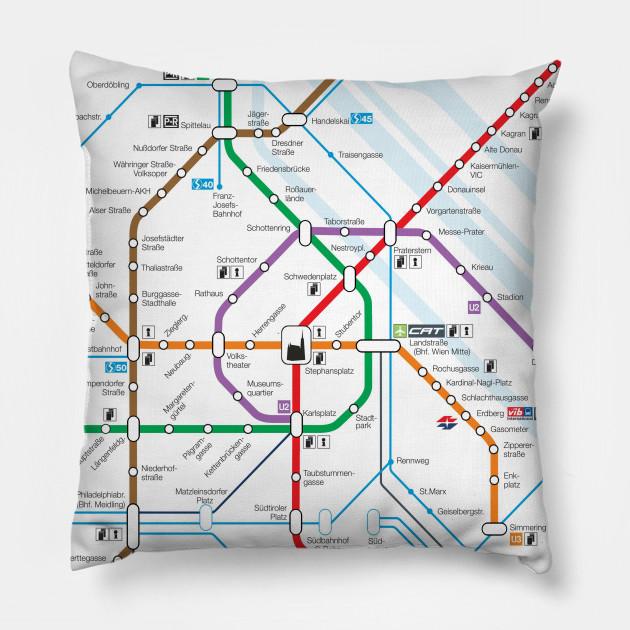 Vienna Subway Map.Vienna Subway Map