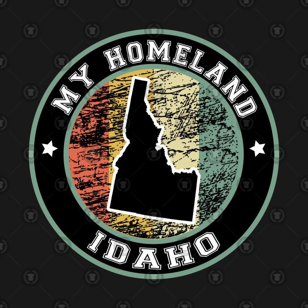 Homeland Idaho state USA vintage