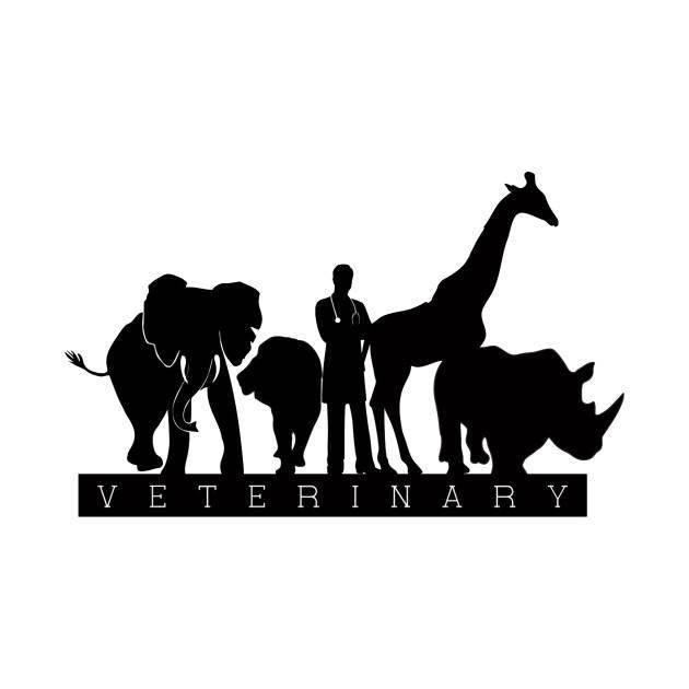 Profession T-Shirt Veterinary