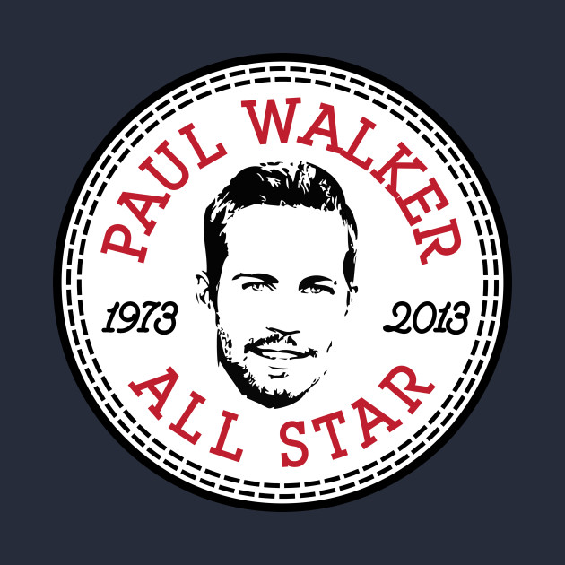 Paul Walker All Star Converse Logo Converse All Star T Shirt