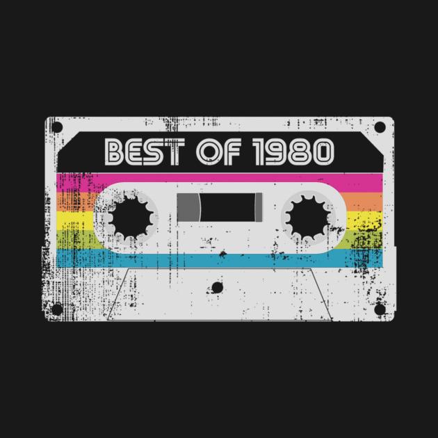 Born in 1980 Vintage Best Of 1980 BirthdayGift Tee Long Sleeve Hoodie Sweatshirt