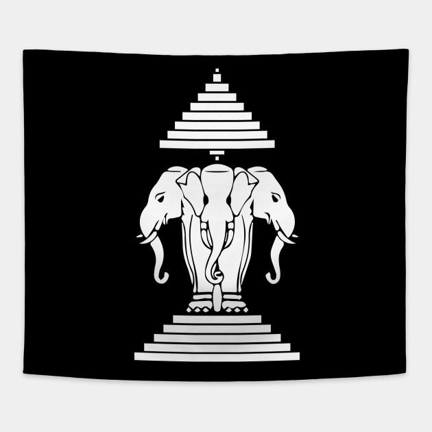 17989b423a7f3 Womens Laos   3 Headed Elephant Erawan Airavata   Laotian   Gift
