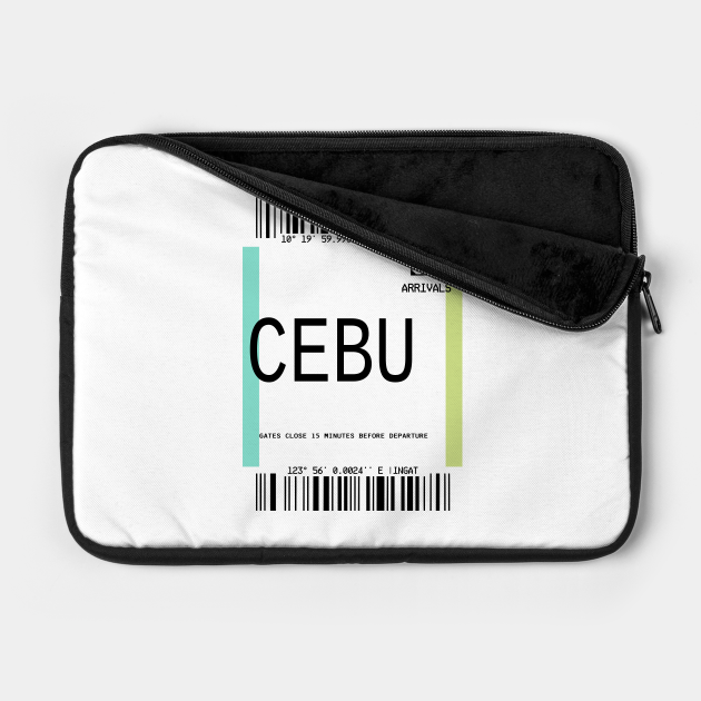 CEBU PLANE TICKET PHONE CASE FILIPINO