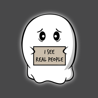 I see real people t-shirts