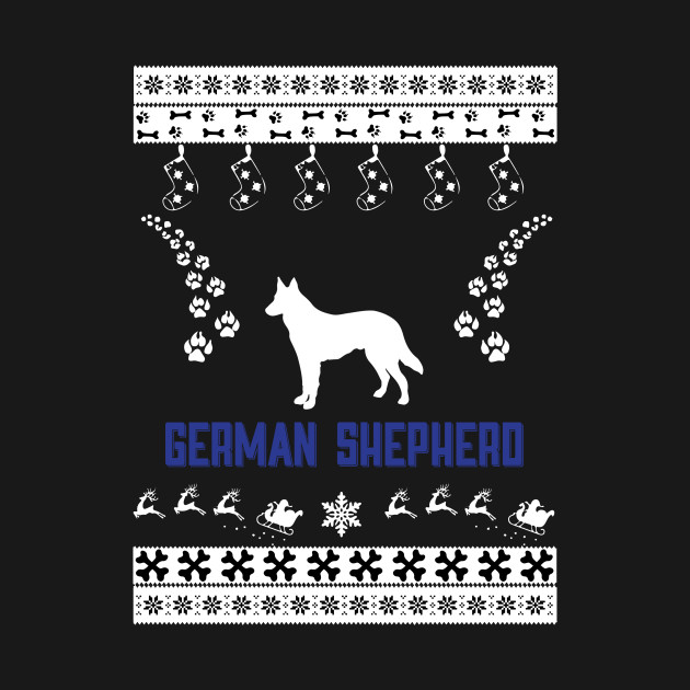 Merry Christmas GERMAN SHEPHERD
