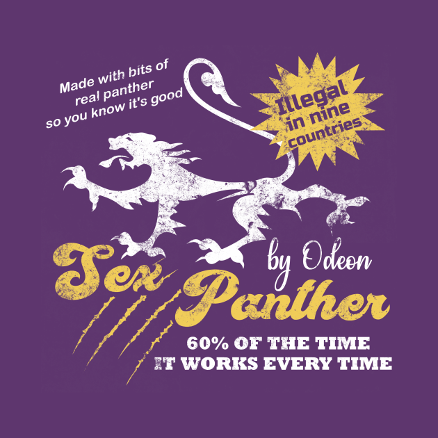 Sex Panther, distressed