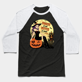 444880d8 Halloween Nurses Baseball T-Shirts | TeePublic