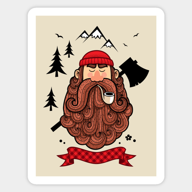 Lumberjack sticker