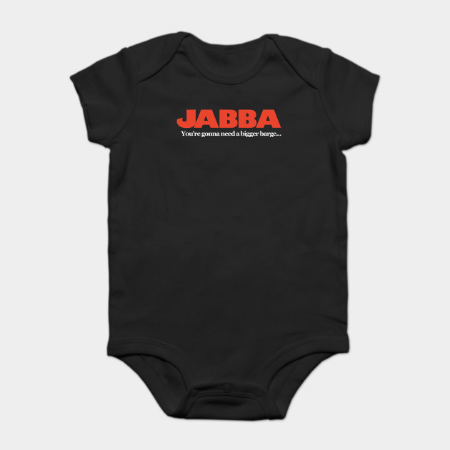 d82c0da4 Jabba / Jaws Mash Up - Funny Star Wars - Onesie   TeePublic