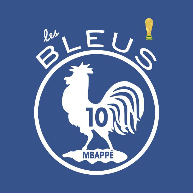 78e6f415325 France National Team Les Bleus 2018 World Cup Champion  10 Mbappé ...