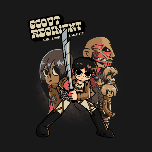 Scout Regiment Vs The Titans