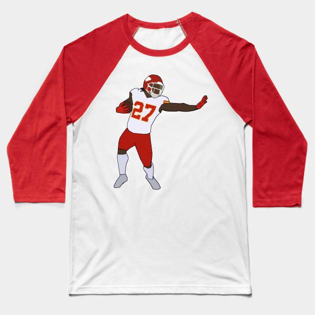 Kareem Hunt Stiff Arm - Kansas City Chiefs - Nfl - Baseball T-Shirt ... bdd205973
