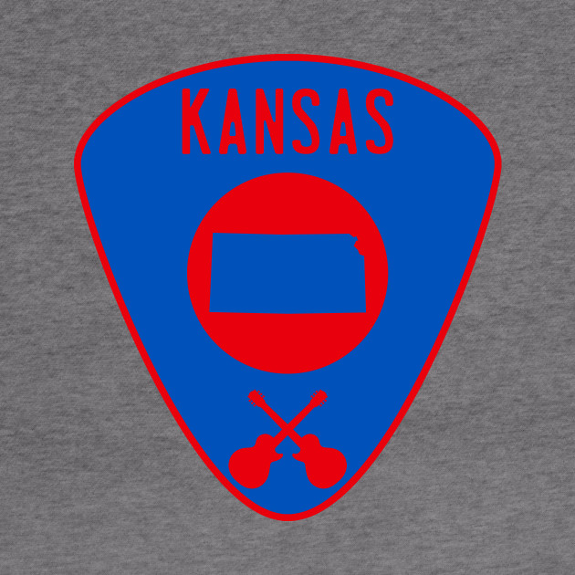 Kansas Guitar Pick