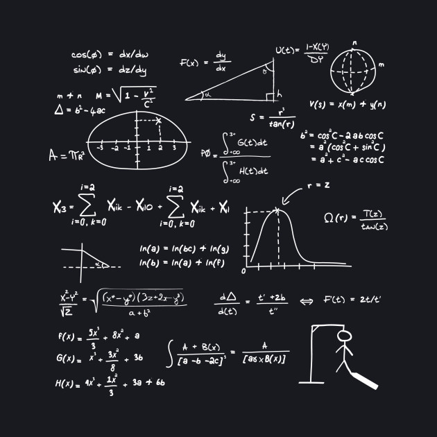 I hate mathematics