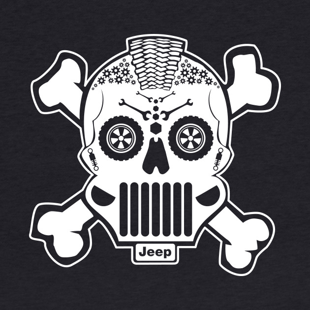 New Sugar Skull Jeep Design!