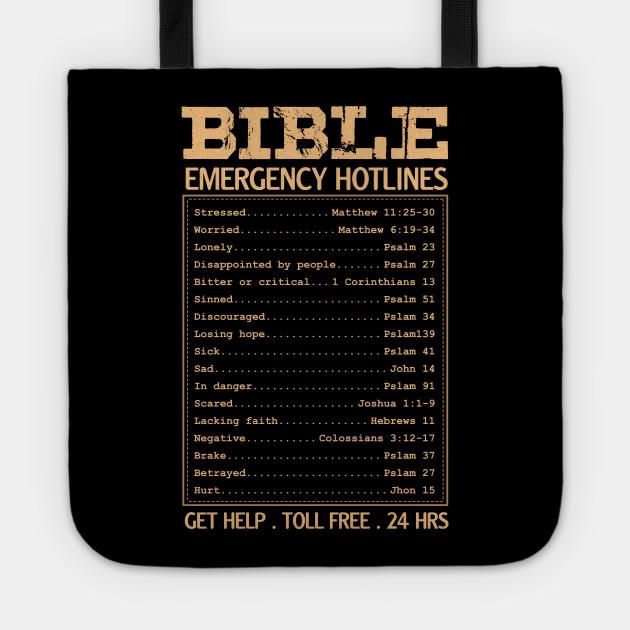 Bible Verse Hotline Index