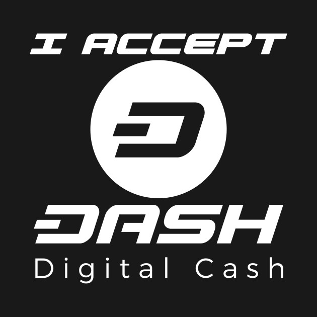 I Aceept Dash Digital Cash