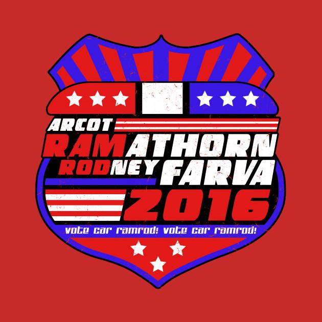 Vote Car Ramrod 2016 - President - T-Shirt