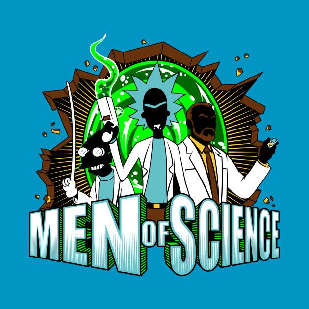 Men Of Science Science T Shirt Teepublic
