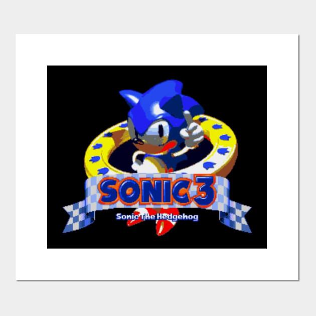 Sonic 3 Prototype Sonic 3 Posters And Art Prints Teepublic
