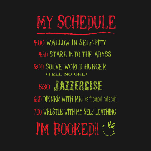my day schedule christmas plan timetable funny tshirt christmas