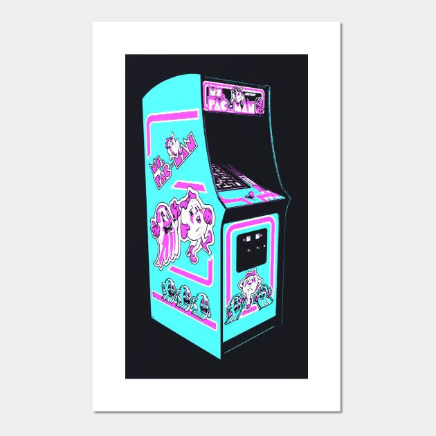 Ms  Pac Man Retro Arcade Game