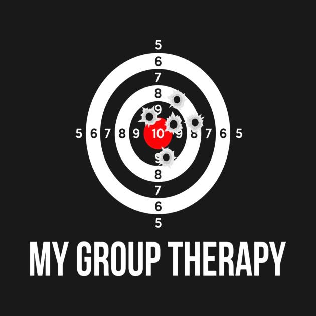 5fd4e8312e Gun Shirt Group Therapy Shooting Range Shirt - Gun Group Therapy ...